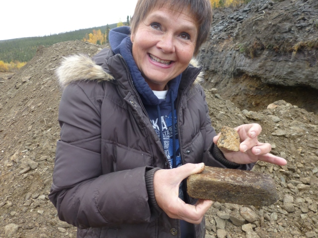 Kathy thought she found gold!